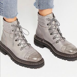 Free People Carter Lace Up Boots